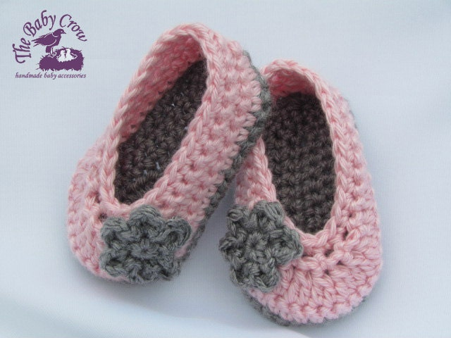 Tutorial Crochet Baby Ballet Booties : Alfa img - Showing > Crochet Baby Ballet Slippers