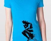 Don't THINK Just HOOP - Hula Hooping T-shirt