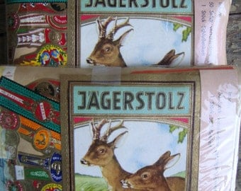 3 Packages of Vintage Cigar Labels Bands from Germany