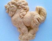 Stoneware Unicorn Cookie Mold