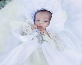 unique christening  gown