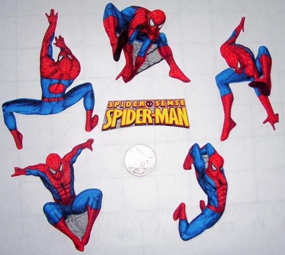 Spiderman  Fabric Iron On Appliques