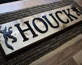 Personalized Signature Name Sign Wood Wall Hanging Wedding Housewarming Gift