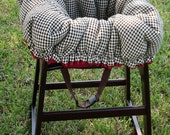 Cart Cover- Houndstooth