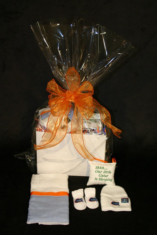 Baby Gift Basket Florida : Baby gift basket university of florida by bbabiesbiz on etsy