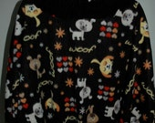 Fleece cape for dog lovers