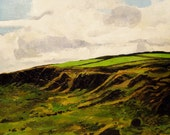 "Ireland Landscape. Oil on Canvas. 18"" x 24"""
