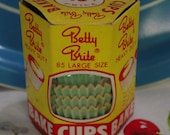Vintage Betty Brite Cupcake Liners..Large Size..Heavy Duty