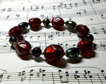 Red Noir Mystery Bracelet