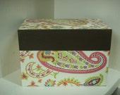 Paisley Recipe Box