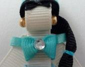 Arabic Princess Hair-clip (Ribbon Sculpture)