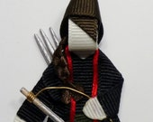 Katniss Ribbon Sculpture (The Hunger Games inspired)