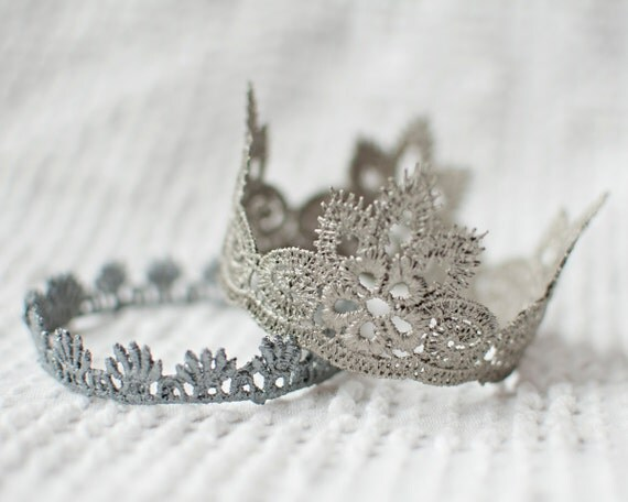 SPECIAL - 2 Lace Crowns (Your Choice of style/color)...ON SALE regularly 27 dollars