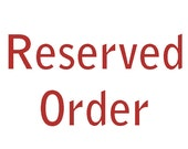 Reserved order - commission for David