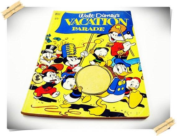 Walt Disney Vacation Parade No 2 1951 Dell Giant Comic Book
