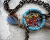 Rainbow Dream Catcher Bracelet