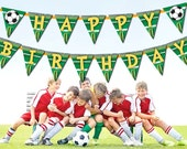 Soccer Decorations - Birthday Banner