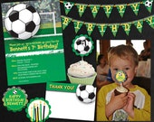 Soccer Party Collection - Birthday Printable Files