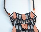 Crystallized Neckpiece - Copper