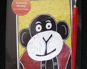 Scratchboard Kit By Ampersand And Linda Sheets Sunshine Monkey