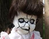 Katie altered art doll ooak