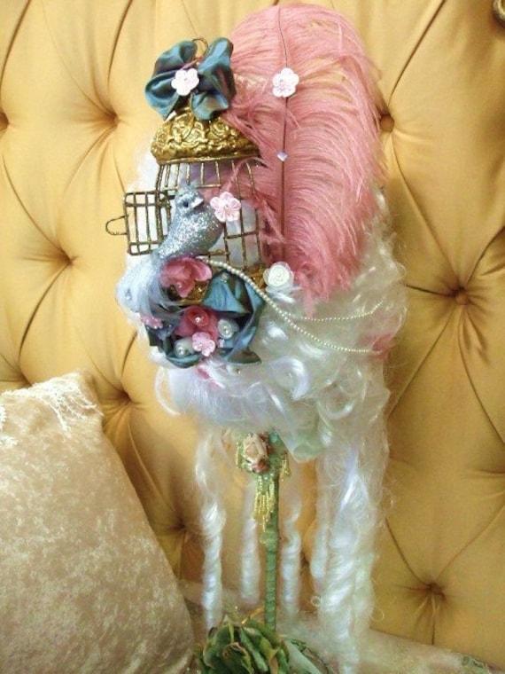 Marie Antoinette Bird Cage Wig