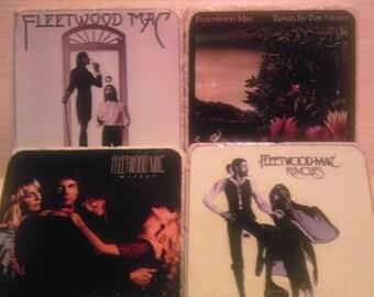 Fleetwood Mac Album Cover Coasters