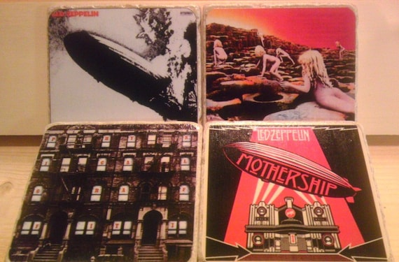Led Zeppelin Album Cover Coasters