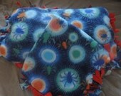 Fleece Blanket and Pillow-tied - Custom combo- Black Friday/Cyber Monday SALE!!!