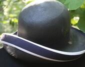 Navy Vintage Hat