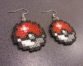 Hama Pokeball - Earrings