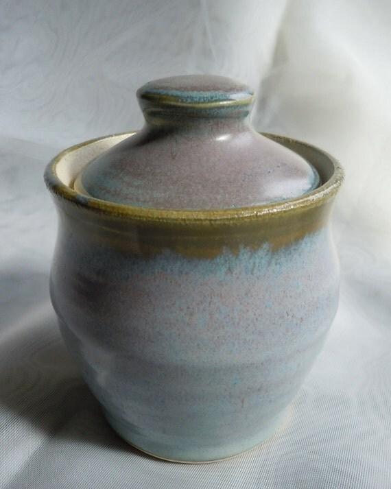 Mini Light Blue Keepsake Jar