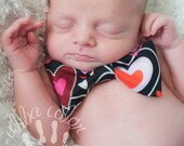 Valentines day baby neckties and bow ties SALE