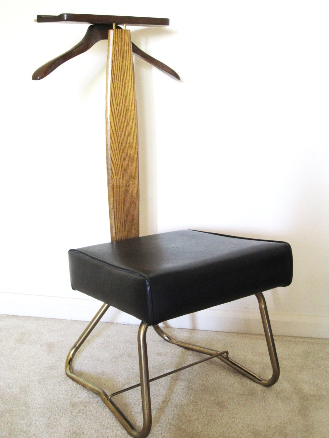 Mid century setwell valet chair by spacesplacesthings on etsy