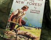 Vintage Book - The Children of the New Forest - Circa 1950's
