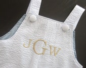 Add Monogram or Applique (For Toddler Pant, Shortall, Overall or Longall)