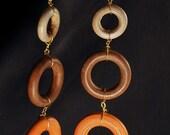 Emsley- Wooden Earrings