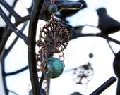 Sylvia- Tree of Life Earrings