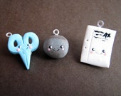 Cute n Kawaii Rock Paper Scissors charms