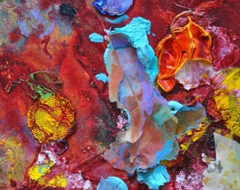 """Euphoria Detail Two Giclee Fine Art Print by Tracey Chikos 16"""" x 20"""""""