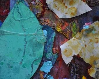 "Euphoria Detail Five Giclee Fine Art Print by Tracey Chikos 11"" x 14"""