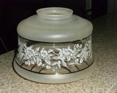 Vintage Period Glass Kitchen/Hall Ceiling Light Shade