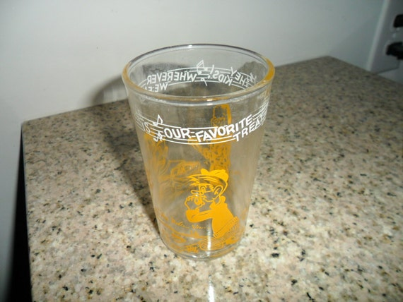 Vintage 1953 Howdy Doody Welsh's Glass