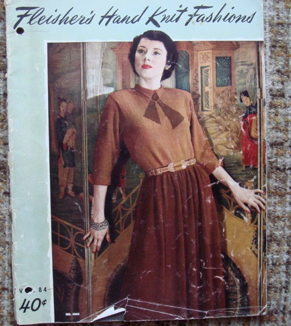 1948 Knit Fashion Booklet