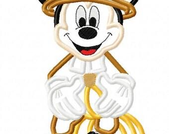 Mouse pilgrim thanksgiving halloween applique design instant download 395