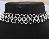 European 4 in 1 Choker Necklace - Stainless Steel