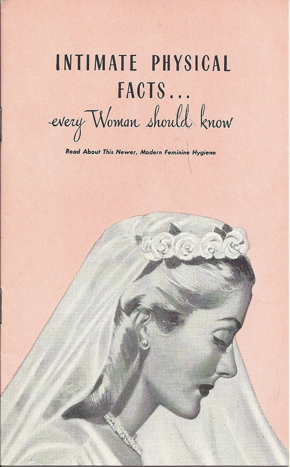 Booklet 1950s Advertisement Zonite Intimate Physical Facts Every Woman Should Know