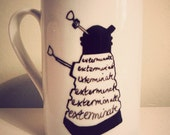 Dr Who Dalek mug by Mr Teacup