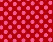 Michael Miller Ta Dot in Berry...........1 Yard