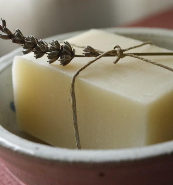 Lavender Soap // Handmade Soap, Vegan Soap,  All Natural Soap, Cold Process Soap